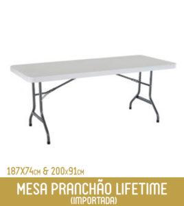 Imagem Mesa Retangular Lifetime (importada)