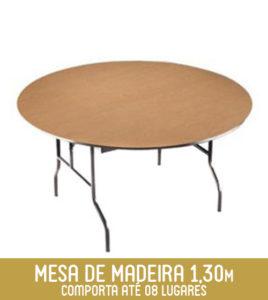 Mobiliário para 6 pessoas