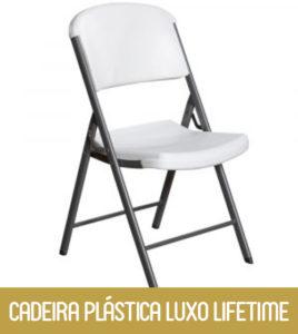 Imagem Cadeira Plástica Luxo Lifetime
