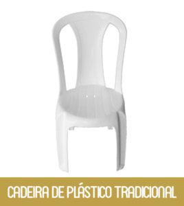 Imagem Cadeira de Plástico Tradicional