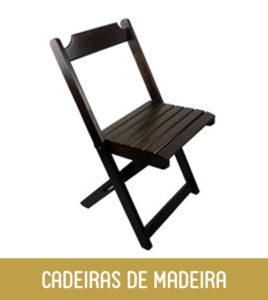 Imagem Cadeiras de Madeira